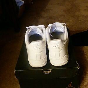 Nike Shoes - Coke White AF1's